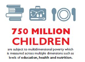 Infographics: 750 million in multidimensional poverty